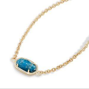 Kendra Scott Elisa Pendant Necklace blue Apatite
